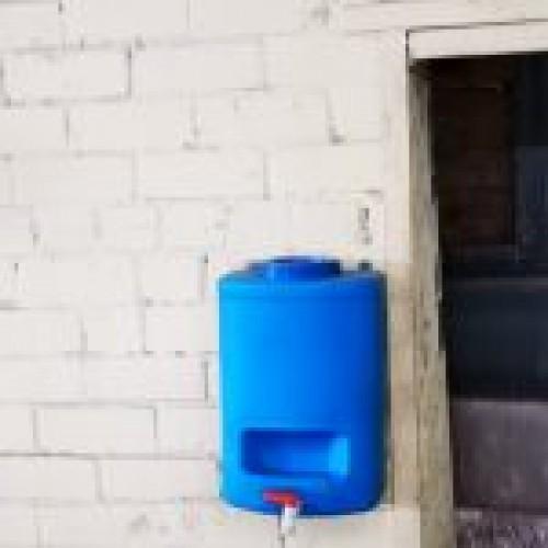 Roku mazgāšanas ūdens tvertne 10l
